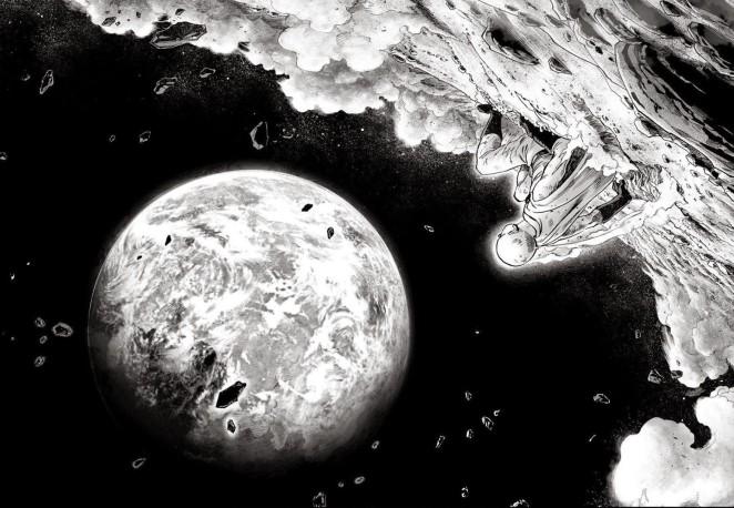 saitama di bulan